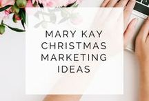 Mary Kay Christmas Sale Ideas / Ideas for making the most of the Holidays as a Mary Kay consultant or director using these special Mary Kay Christmas Sale Ideas.