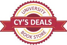 Cy's Deals / Introducing Cy's Deals, get all of your ISU basics for a great price! Check it out!