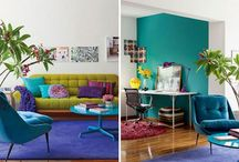 Colourful Interiors / by Carol Standil