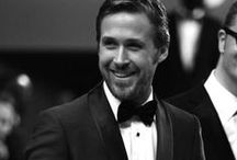 Dapper Dons / male celebrity red carpet attire, couture and actor's all suited up... / by Karen Nash
