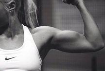 get fit / by Taylor Bingham