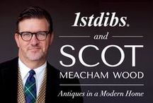 "Scot Meacham Wood and 1stdibs: ""Using Antiques in a Modern Home"" / A 13-year veteran of Ralph Lauren, interior designer Scot Meacham Wood has a penchant for classic European design with a dash of Southern hospitality. Now the founder of SMW Design, Mr. Wood continues to balance the historic and the modern to create homes with warmth, personality, and style. Here, he shares his favorite selections from 1stdibs / by Scot Meacham Wood"