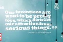 Techspiration / Famous tech quotes we love.   / by PCMag