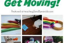 Movement activities for children / Activities that will get kids moving