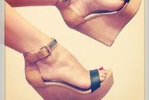 love of shoes.