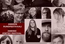 Annikki Poetry Festival links / Annikki Poetry Festival's pinboard. Sosial media, photos, articles, links and more...