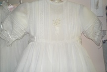 christening apparel / by Gail Groth