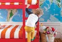 A Room For The Littles / Children's spaces - decor inspiration and ideas for kids bedrooms, nurseries, playrooms, and learning spaces.