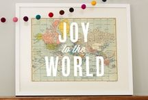 Christmas Inspiration / It's the most wonderful time of the year - Christmas, of course! Inspiration for decor, food, kids activities, family traditions, advent, gifts, and more.