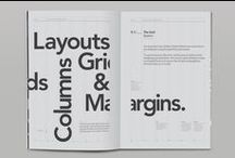 Layouts° / | type treatments | / by Nicola Broderick