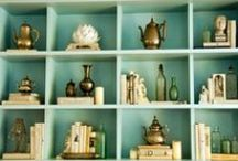 Bookcases and Shelves / by Cindy Christal-Atagana