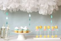 Party Inspiration - Baby Shower / Baby shower inspiration - food, decor, games, and more.