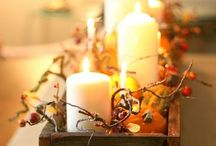 Thanksgiving Inspiration / Decor inspiration, recipe ideas, learning resources, and kids crafts for Thanksgiving.