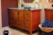 Huggy Bear's Bathroom Cabinets