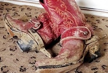 Boots and more boots... / by Terry Brooke