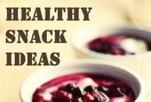 Healthy snacks / by Cassandra Giller