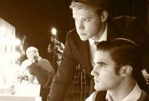 **Blam** Darren Criss and Chord Overstreet / by Mary Alice Morales