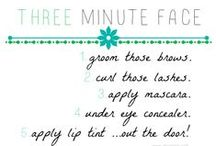 five minute FACE / This is the five minute face- plus helpful tips for you when your running out the door. All the colors are listed in the description along with application tips. Drug store and High end! Have fun! #makeup #beauty #beautyblogger