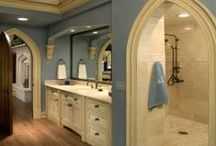 Bathroom ideas / by Cassandra Giller