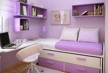 Bedroom ideas / by Cassandra Giller
