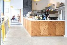 Gathering Place Inspiration / Cafe and meeting space inspiration.
