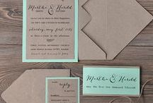 Wedding:Save the date& Invitations ideas / by Olivia cupcake Johnson