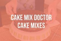 Cake Mixes / Yellow Cake Mix | Chocolate Cake Mix | Cake Mix Doctor Mixes | Tastes Homemade | Real Ingredients | Real Vanilla