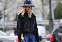 Street Style / Pics of street style of celebrities, bloggers, socialites, and fashionistas.  Style inspiration