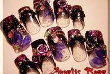 AngelicRose / AngelicRose GOTHIC NAIL  http://angelicrose.jp/