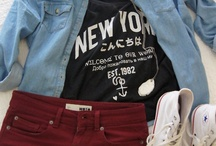 fashion sense / clothes galore. i wish i owned everything in my pinterest closet! / by Olivia DeLong