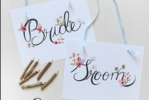 For the DIY Brides / Nifty craft projects and things the brides can do to save money!