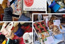 Sept 2012 PD Flea / This event has now passed, but here are pins from some of our fab Pretty Dandy Flea stallholders
