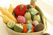 Crochet food / by lanasyovillos .