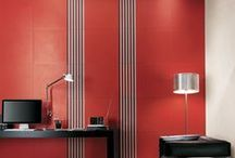 Red Tiles / Elegant, sensual, luxury tiles: chose red colors to personalize with character and decision your interiors.