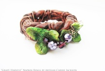 Artisan Napkin Rings / by Painted Fancy
