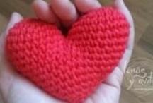 Valentine's crochet / by lanasyovillos .