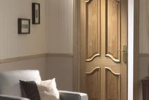 Internal Oak Panel Doors / Some classic door styles and some modern ones for comparison.