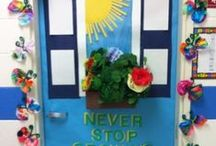 Door to Door / The most creative and inspiring classroom doors that we've seen. We add more all the time, so check back for seasonal updates and new favorites! / by Constructive Playthings