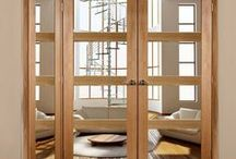 Internal Room Dividers / Room divider door and frame sets in lots of sizes.