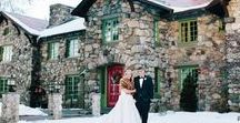Winter Weddings / There is nothing more romantic than a candle-lit winter wedding at Willowdale Estate!  Check out these winter themed wedding details and start planning your own celebration.