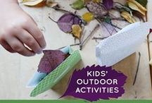 Exploring the Outdoors / Fun ways you can play and explore outdoors. / by Constructive Playthings