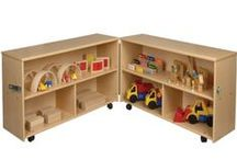 Storage Solutions / Choose from our wide variety of shelves, cabinets and furniture to help organize your classroom. / by Constructive Playthings