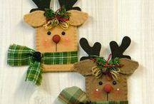 Christmas - Felt Reindeer