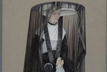 Mourning Dress - before 1800
