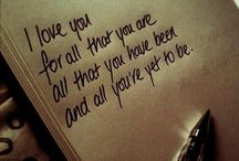 all you need is love** / {lOvE qUoTeS} and heart break too........ / by Amy Gulliver