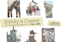 Expo 2015 Milano & Caesar tiles / Caesar tiles are protagonist at Expo2015 in Milan. We have porcelain stoneware for every taste! Enjoy food and our tiles Made in Italy!