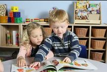 Early Childhood Literacy / Learning to love reading is as easy as A,B,C ! We love to find new ways of exploring literacy that help encourage kids to start and keep reading, for fun! / by Constructive Playthings