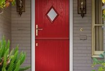 "Composite Virtuoso Doors - ""Secured By Design"" police standard."