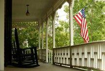 Georgia's Porches & Main Streets / Explore Georgia's beautiful porches & main streets.
