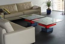 Low glass tables, dining tables / All our tables. See all colors and sizes on our website.